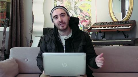 Clams Casino With His HP Split x2 Ultrabook