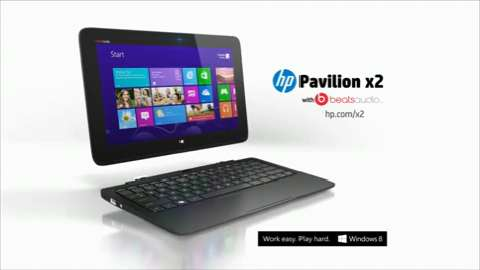 HP Pavilion x2 with Beats Audio