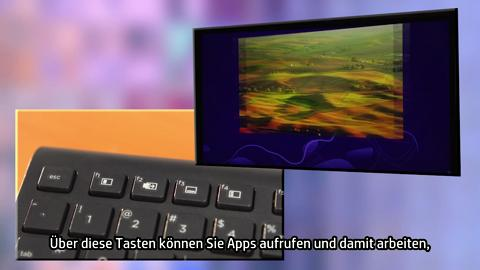 Windows 8 Keyboard video demo - German