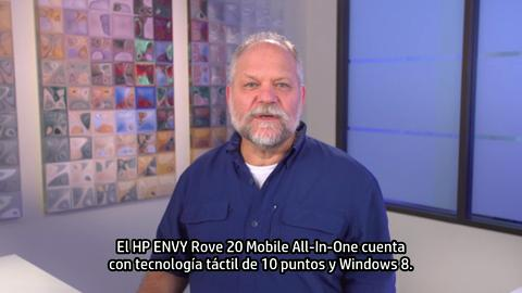 HP ENVY Rove 20 Mobile All-In-One training video - Spanish