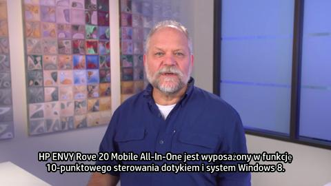 HP ENVY Rove 20 Mobile All-In-One training video - Polish
