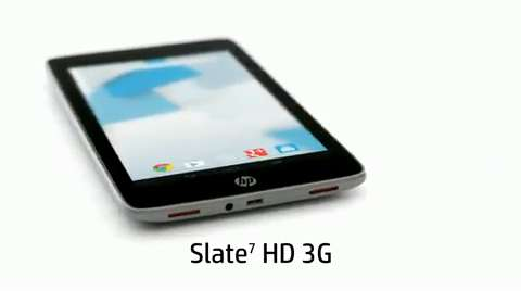HP Slate 7 HD video demo