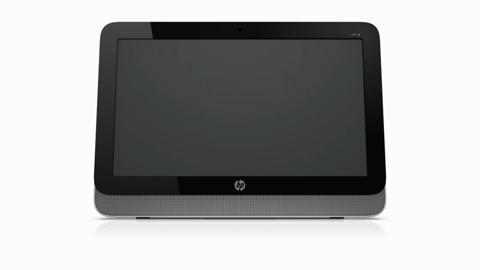 HP 18 All in One Desktop Product Rotation