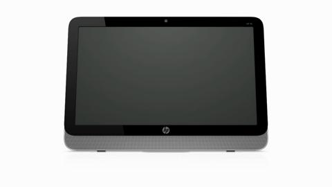 HP 20 All-in-One Desktop Product Rotation
