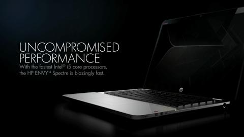 HP ENVY 14-3000 SPECTRE Notebook Demo Video - English