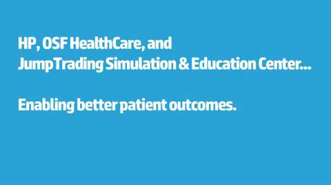 HP, OSF and Jump Trading: Enabling better patient outcomes