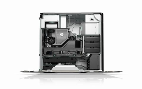 HP Z620 Workstation Video Demo