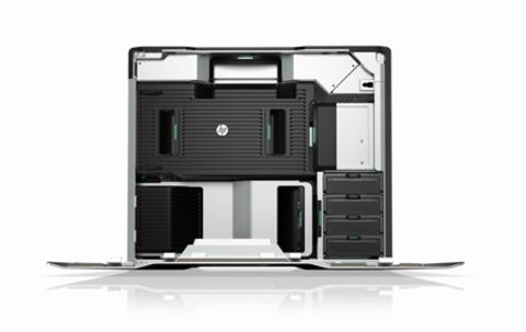 HP Z820 Workstation Video Demo