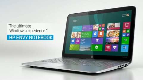 HP ENVY m6  notebook video demo