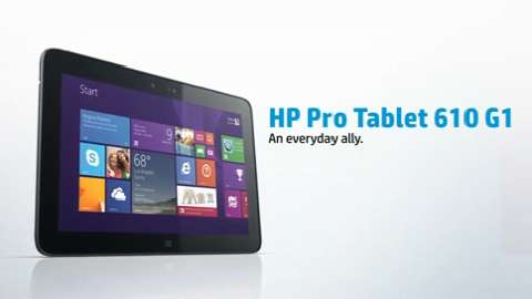 HP ProPad 600 G1 Tablet