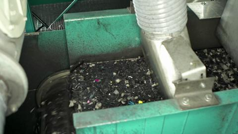 HP ink cartridge recycling facility Thurnau, Germany (PDR)