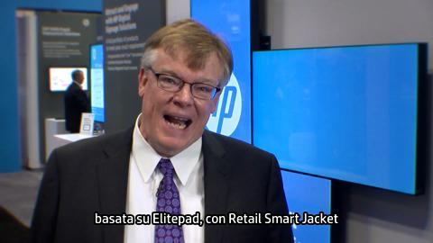 HP Retail Solutions at NRF 2014 - Italian