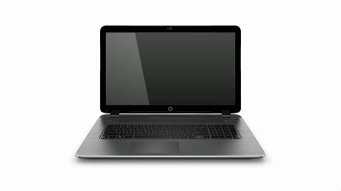 HP Pavilion 17 notebook product rotation