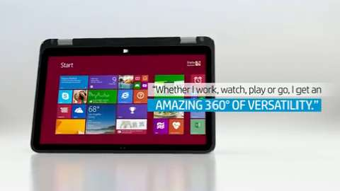 HP ENVY 15 x360 Convertible PC video demo