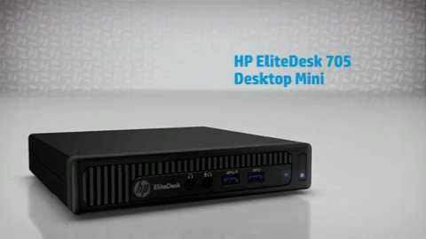 HP EliteDesk 705 Desktop Mini