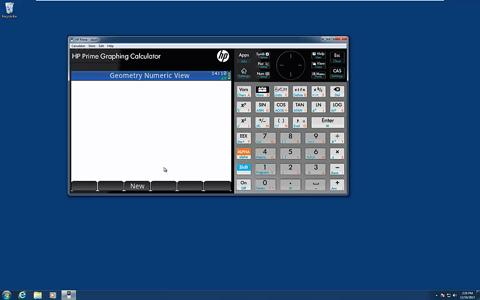 HP Prime Graphing Calculator - Geometry App