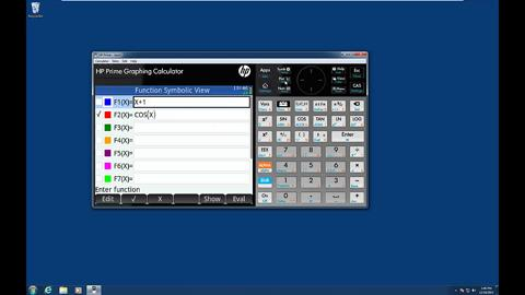 HP Prime Graphing Calculator - Advanced Graphing App