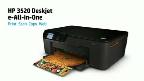 HP Deskjet 3520 e-All-in-One Series