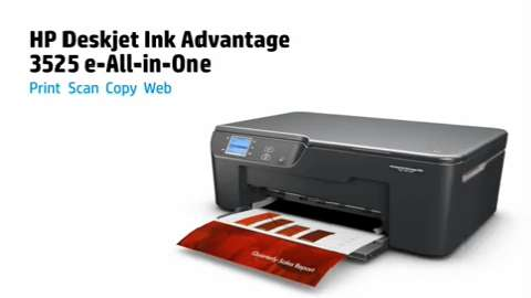 HP Deskjet Ink Advantage 3525 e-All-in-One Series