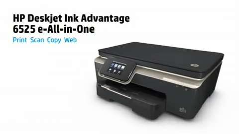 HP Deskjet Ink Advantage 6525 e-All-in-One Series