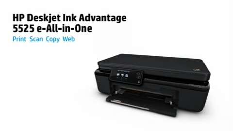 HP Deskjet Ink Advantage 5525 e-All-in-One Series