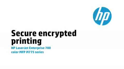 12 - Secure encrypted printing