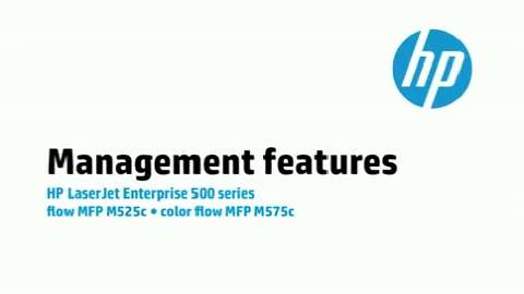 10 - M575c/M525c: Management features
