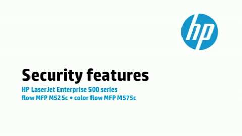 11 - M575c/M525c: Security features