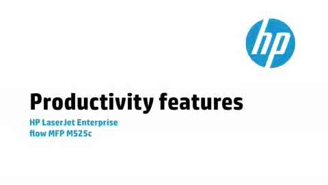 3b - M525c: Productivity features