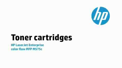 5a - M575c: Toner cartridges