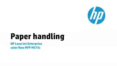 4a - M575c: Paper handling