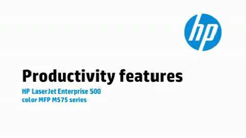 2a - M575: Productivity feature