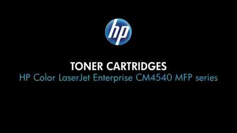 4 - Toner cartridges (CM4540 MFP)