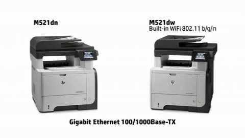 Elevate your business - HP LaserJet Pro MFP M521dn