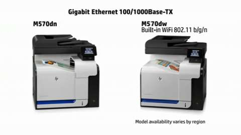 Drive Business Growth - HP LaserJet Pro color MFP M570dn