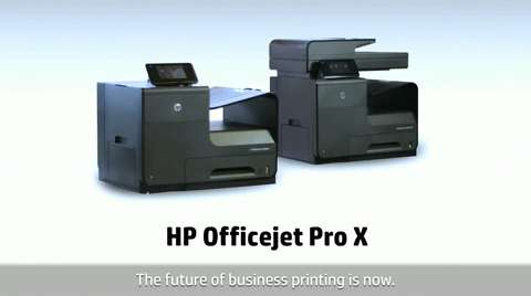 HP Officejet ProX - World's Fastest Color Desktop Printer - English