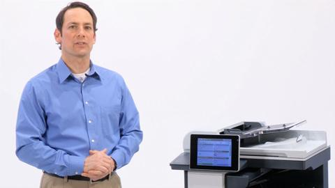 Transform the way you work (HP LaserJet Enterprise flow M830)