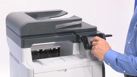 Walk up and print or scan with a portable USB drive (enterprise)