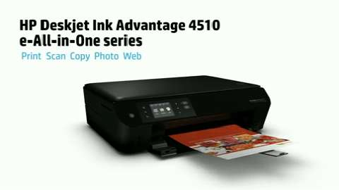 HP Deskjet Ink Advantage 4510 e-All-in-One  Printer Product Overview