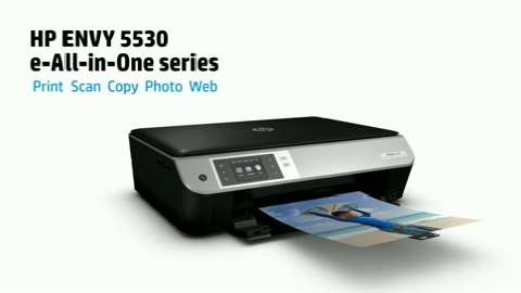 HP ENVY 5530 e-All-in-One Product Overview.