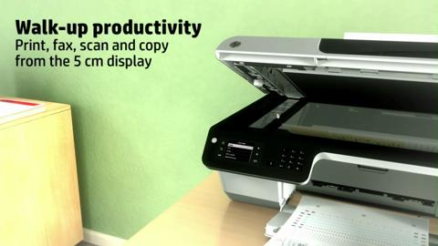 HP Officejet 2620 e-All-in-One Product Overview