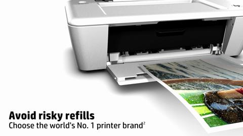 HP Deskjet Ink Advantage 1015 Printer Product Overview EMEA