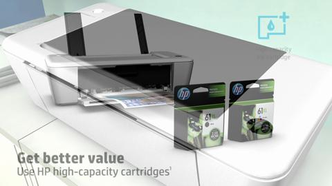 HP Deskjet Ink Advantage 1015 Printer Product Overview NA