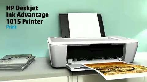 HP Deskjet Ink Advantage 1015 Printer Product Overview AP