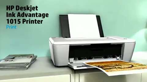 HP Deskjet Ink Advantage 1015 Printer Product Overview LAR