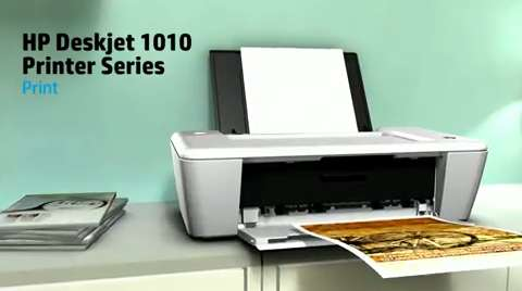HP Deskjet 1010 Printer Product Overview EMEA
