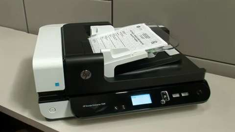 HP Scanjet Enterprise Flow: Robust scanning