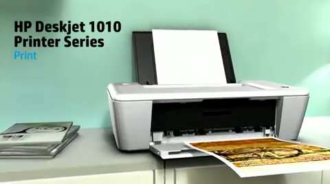 HP Deskjet 1010 Printer Product Overview NA & AP