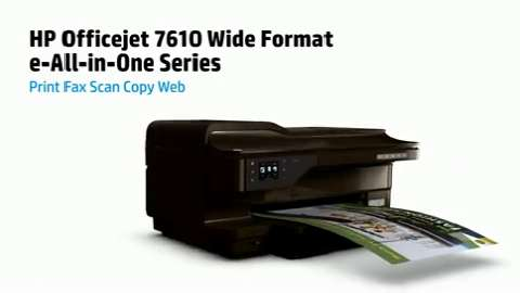 HP OJ 7610 Printer Product Overview_NA