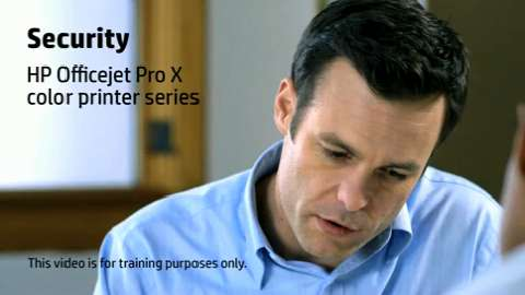 HP Officejet ProX SFP Security Training Video